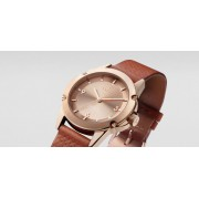 TRIWA Rose Skala Watch Brown