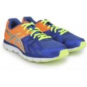 Asics Gel-Zaraca 3 Men Running Shoes(Blue, Orange, Silver, Yellow)