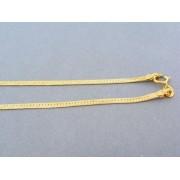 Zlatá retiazka žlté zlato pevná DR50601Z