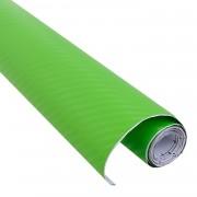 Rola folie carbon 3D verde latime 1.27m x 30m