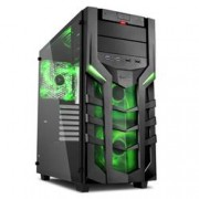 SHARKOON CASE 2XU2, 2XU3, TEMPERED GLAS, 3X140 LED