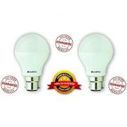 Overdrive 5-Watt B22 Base LED Bulb (2 Pieces Offer Pack Cool Day Light)