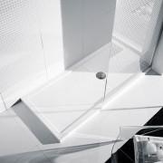 Novellini Plato de ducha 170x80 Olympic Plus Glossy White - Plato de ducha de altura: H 12