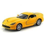 2013 SRT Dodge Viper GTS 1/36 Yellow