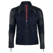 Giorgio Di Mare Winter Coat Sweater Navy GI5200586