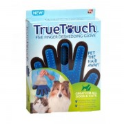 True Touch vyčesávacia rukavica na srsť pre psov a mačky