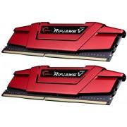 Memorie G.Skill Ripjawa V Red, DDR4, 2x8GB, 3200MHz