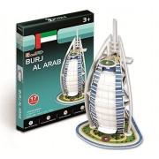 Burj Al Arab 3D Puzzle Toys for School Kids Assembling Parts