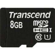 Card de Memorie Transcend microSDHC 8GB Clasa 10 UHS-1