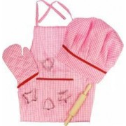 Set sortulet si accesorii roz