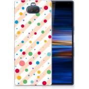 Sony Xperia 10 Plus TPU Hoesje Design Dots