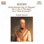 J. Haydn - String Quartets Op.33 Nos (0730099578820) (1 CD)