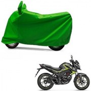Intenzo Premium Full green Two Wheeler Cover for Honda CB Hornet 160