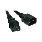 Tripp Lite 6ft Computer Power Cord Extension Cable C14 to C13 13A 16AWG 6' - rallonge de câble d'alimentation - 1.83 m