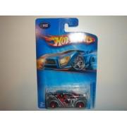 2005 Hot Wheels Volkswagen New Beetle Cup Grey Red 5SP Wheel #142