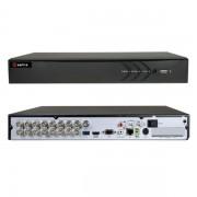 DVR 16 CANALI IBRIDO 5 IN 1 TURBO HD 720P A 25FPS HTVR31-VISHTVR3116
