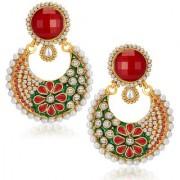 Sukkhi Exotic Gold Plated Australian Diamond Earrings
