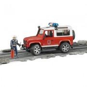 Bruder Land Rover Defender Feuerwehreinsatzfahrzeug