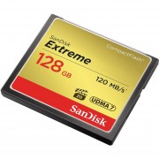 SanDisk Extreme CompactFlash Card 128GB (SDCFXSB-128G-G46)