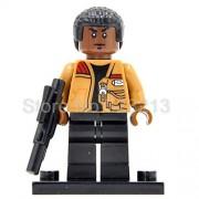 Generic Yoda Luke OBI Wan Kenobi Clone Trooper Figure Legoingly Building Blocks Sets Model Bricks Toys for Kids Finn