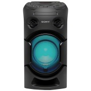 Sistem audio High Power Sony MHC-V21D, Hi-Fi, Wireless Party Chain, Party music, Bluetooth, NFC, USB, DVD (Negru)
