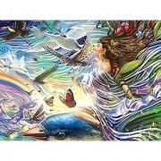 Rainbowline Fairies - Sky Fairy 750 Piece Puzzle