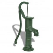 vidaXL Litinová zahradní ruční pumpa / čerpadlo na vodu - zelená