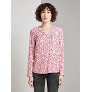 TOM TAILOR Blouse met bloemenprint, pink flowery design, 44