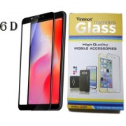 Vinimox 6d tempered glass for redmi 6 Pro (black)