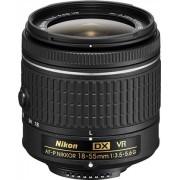 Nikon DX VR AF-P Nikkor 18-55mm f/3.5-5.6G Objetivo Negro