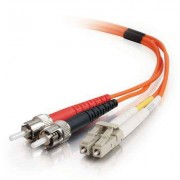 C2G LC-ST 50/125 OM2 Duplex Multimode PVC Fiber