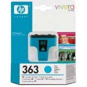 HP 363 Cyan Ink Cartridge for Photosmart, 6ml (C8771EE)