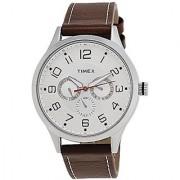 Timex Fashion Analog Silver Dial Mens Watch - TW000T304