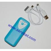Мобилна батерия за зареждане на GSM Smartphone Tablet iPhone - Mobile Power bank 5600mAh