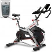Bicicleta indoor Rex Eletrónico Bh Fitness: Equipada com monitor LCD