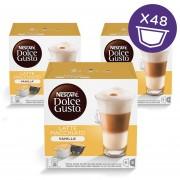 Triple Pack 48 Capsulas Latte Macchiato Vainilla Nescafe Dolce Gusto