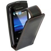 Sony Ericsson Vivaz U5i Кожен Калъф + Протектор
