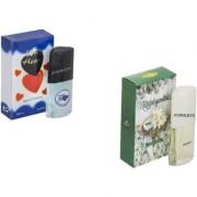 Combo Younge Heart Blue 20ml-Rajnigandha 20ml perfume