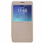Husa Book Nillkin Sparkle pentru Samsung Galaxy Note 5 N920 Auriu