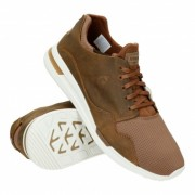 """le coq sportif LCS R PURE PULL UP LEATHER/MESH """"Reglisse"""""""