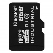 Card Kingston Industrial microSDHC 8GB 20 Mbs Clasa 10 UHS-I U1