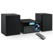 Majestic Ah-2350 Bt Micro Hi-Fi Mp3 Usb Dab/dab+ Con Lettore Cd Colore Nero