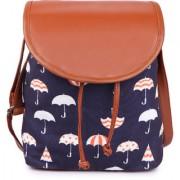 Suprino Women and girls Canvas Blue Sling Bag