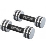 Set gantere cromate Kettler 2 x 1 Kg