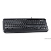 KBD, Microsoft Wired Keyboard 600, USB, English, Black (ANB-00021)