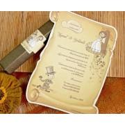 Invitatii nunta 32732 B