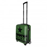 Heineken Wherever you go, take your Heineken passion with you. With this beautifully designed trolley made from premium materials, you get your stuff safely and stylish to your destination.