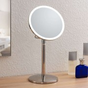 Lindby Farita LED cosmetic mirror