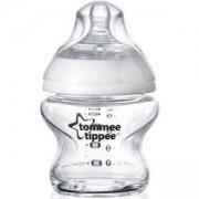 Стъклено шише за хранене Easi Vent, 150 мл. Tommee Tippee, 263128
