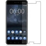 Tempered Glass for Nokia 6 Standard Quality ( Buy 1 Get 1 Free)